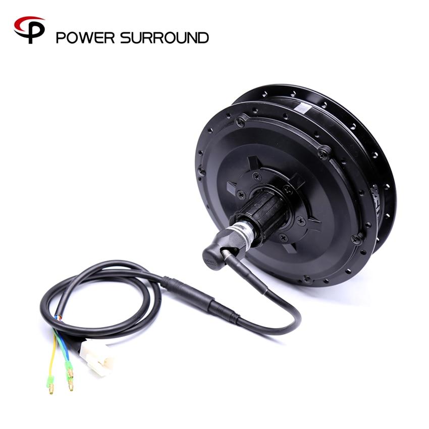 Electric Bike Kit 48V 500W 8FUN CST Rear Hub Motor wheel motor for bike electric wheel bafang