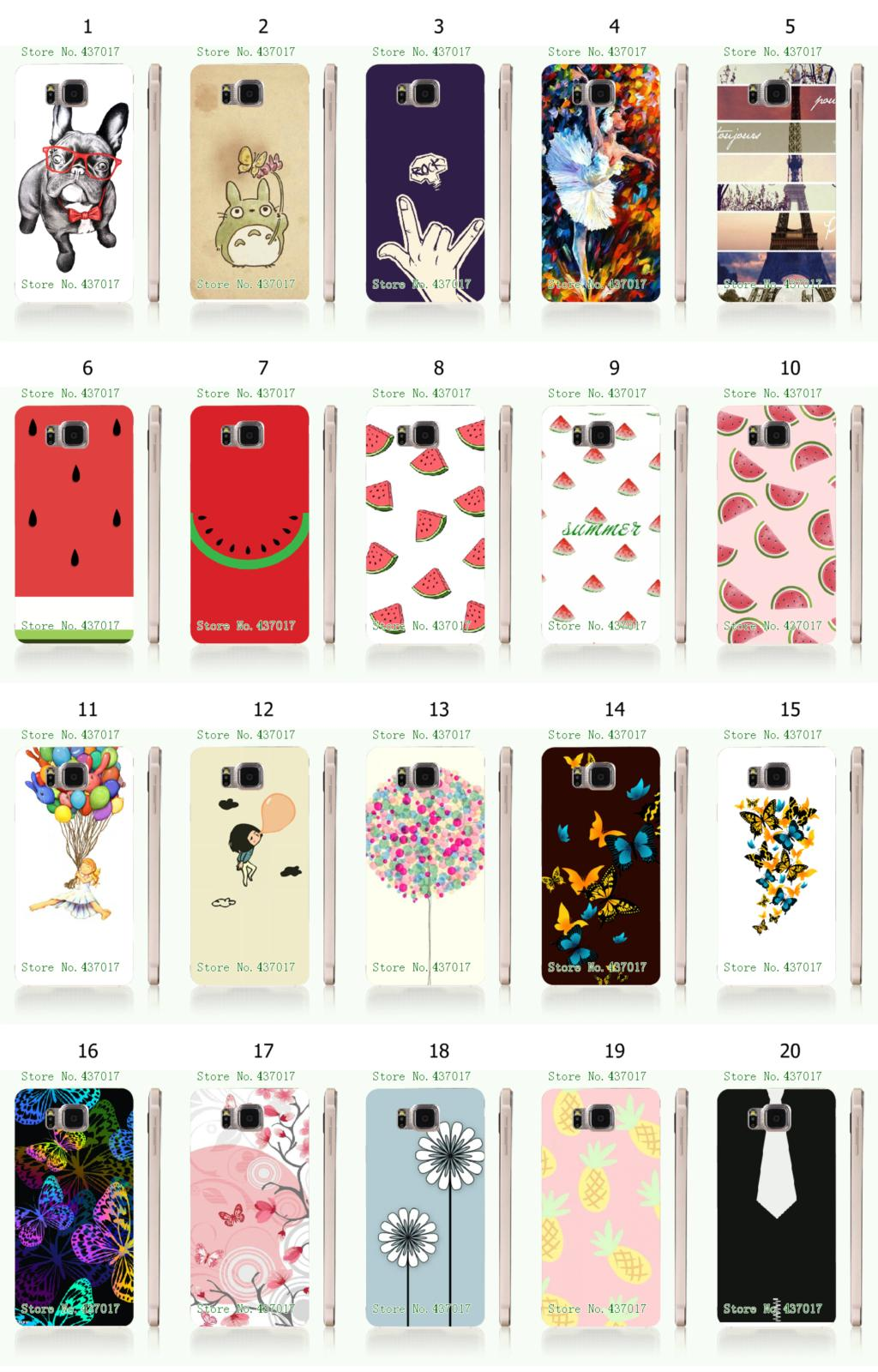 Online-custom hot new hybrid hard plastic back cover case for samsung galaxy alpha g850 Free Shipping