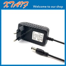 Best quality, 1PC 6V1A AC 100V 240V Converter Adapter DC6V 1A 6V1000mA one thousand mA power plug EU DC5.5x2.1 mm, free shipping