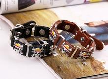 Leather One Piece Bracelet [2 Colors Available]