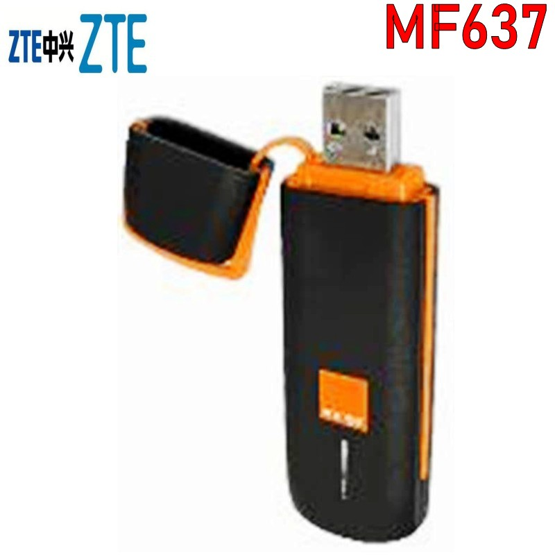ZTE MF637 HSDPA 3G Hsdpa Usb Modem Unlocked USB Modem 3G Wireless Modem