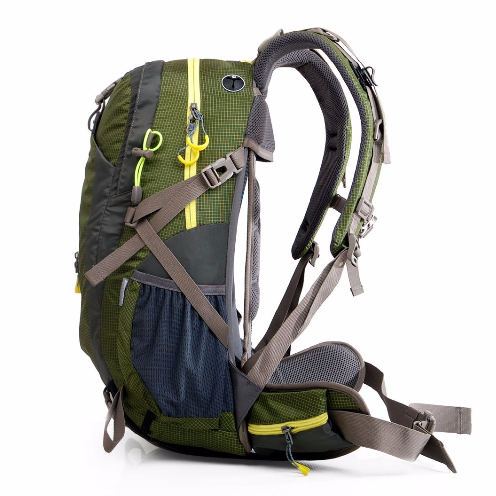Maleroads sac à dos Camping randonnée sac à dos sport sac de voyage en plein air sac à dos trekking montagne escalade équipement 40 50L hommes femmes - 2
