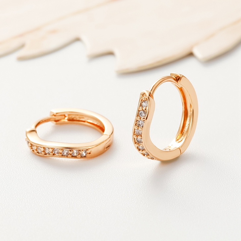 Aliexpress Sale 2020 Fashion Earring Gold-Color CC Earrings For Women - Fashion Jewelry - Photo 3