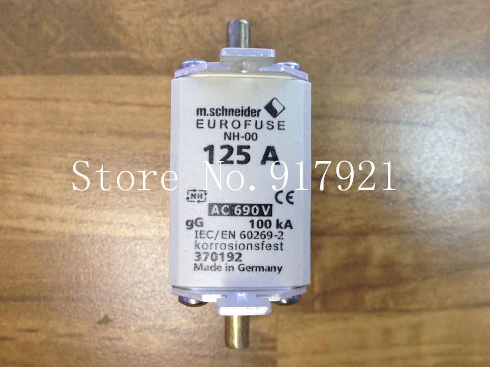 [ZOB] The United States Bussmann NH-00 30192 125A BUSS fuse tube 690V --2pcs/lot [zob] the united states bussmann 250nh1 g690 250a buss 690v original fuse 2pcs lot