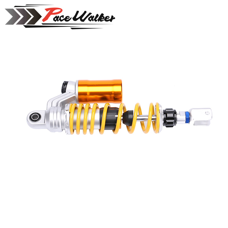 1XPCS 320mm/12.5'' Motorcycle modified Adjust damping Nitrogen Shock Absorbers Rear Suspension For Scooter BWS all motorcycle electric motor speed modification battle calf fight three generation bws damping adjustable shock dj1 horse