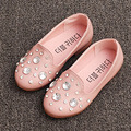 2017 New Crystal Girls Shoes Slip on Kids Girls Loafers Fancy Rhinestone Toddlers Casual Shoes Childen's Flats Sapatps Ninas