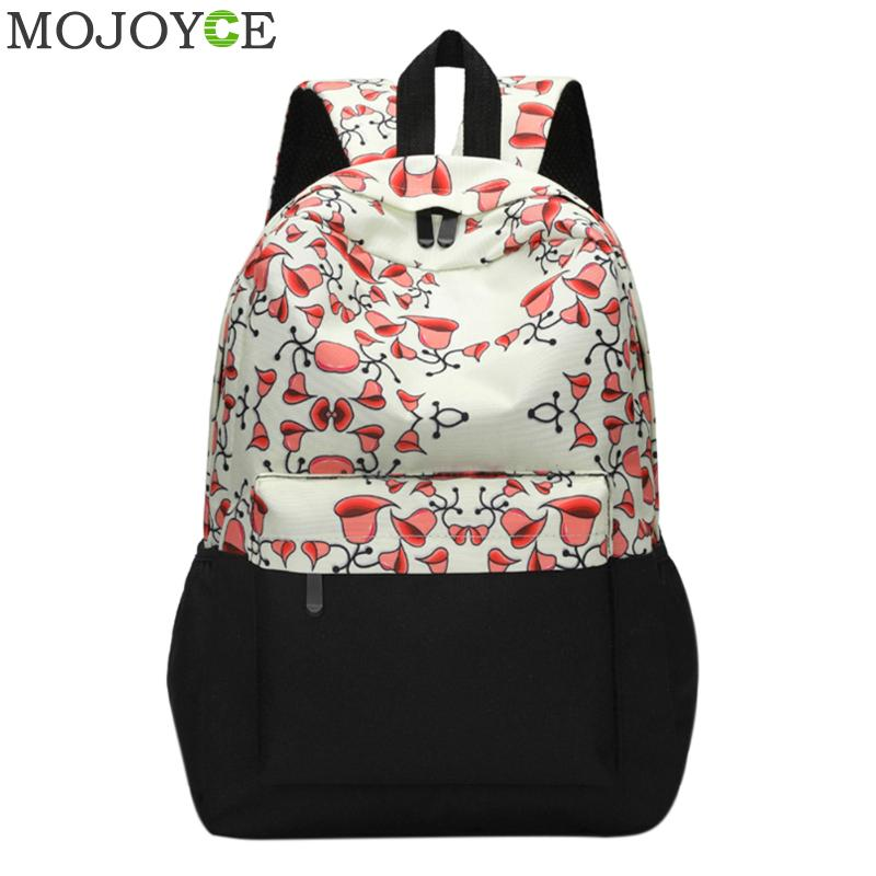 Women Printing Backpacks Fashion Canvas Backpack Retro Casual School Bags for Teenager Girls Travel Bags Female Daypack Mochilas children school bag minecraft cartoon backpack pupils printing school bags hot game backpacks for boys and girls mochila escolar