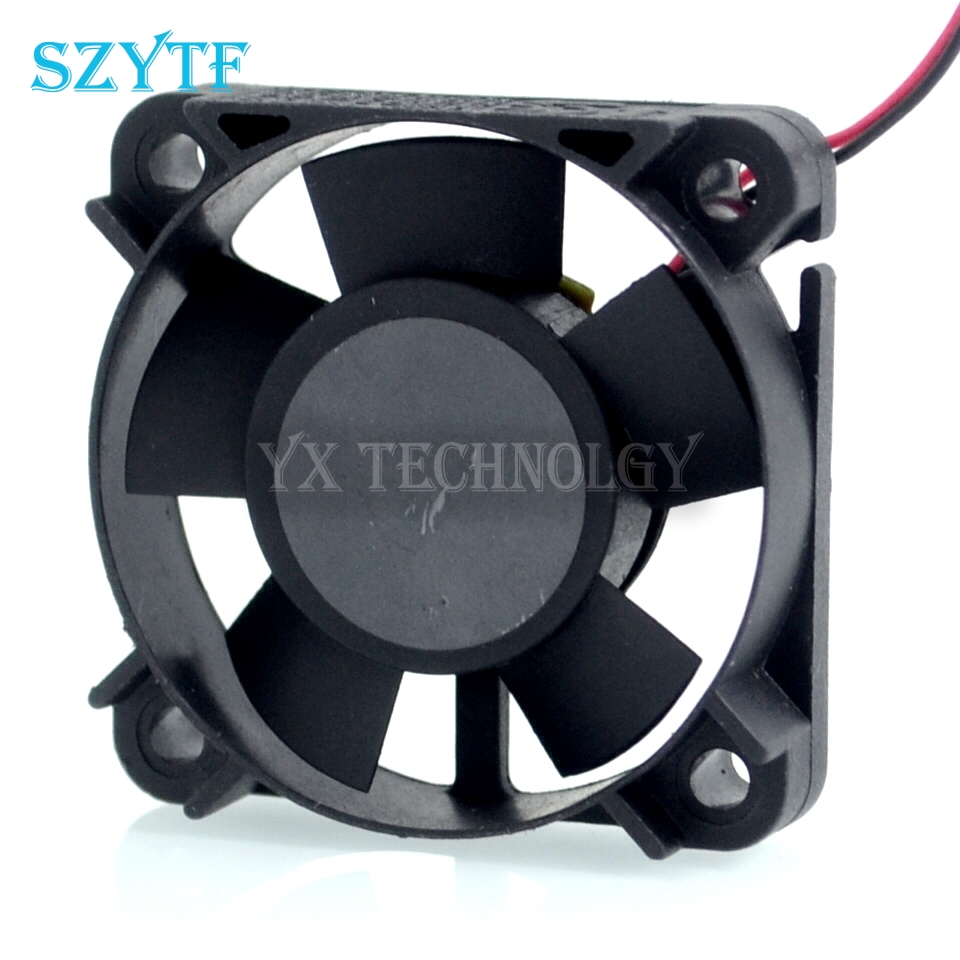 made in Taiwan KDE1204PFV2 40*40*10MM 2 wire 4010 12V 0.6W velocity transducer fan for free shipping new original taiwan sunon fan fan kde1204pfv2 4cm 40 40 10mm 4 4 1cm 4010 12v 1 2w support velocimetry