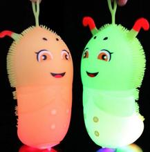 Anime Kids Toys Vent Ball Flashing Glow Favors Glow Children Gift Free Shipping Random Color