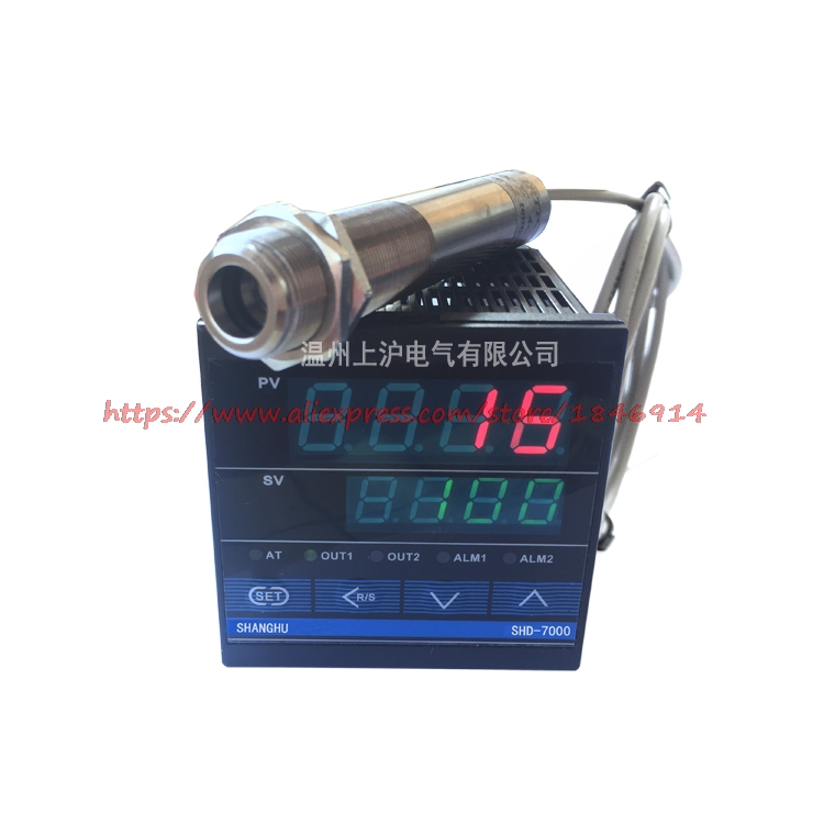 0-2800 degree of non contact Infrared temperature sensor probe with temperature control table0-2800 degree of non contact Infrared temperature sensor probe with temperature control table
