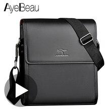 Taşınabilir el çalışma iş ofis erkek omuz çantası erkekler evrak çantası belge çanta Satchel portföy iş Partfel çantası