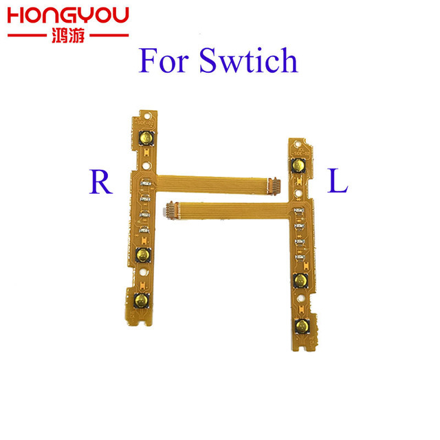 US $2 89 9% OFF|NEW Replacement part SL SR Button Flex Cable for Nintendo  NS Switch Joy Con left right Button Key Flex Cable-in Replacement Parts &
