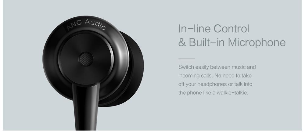Original Xiaomi ANC Earphones Hybrid Type-C Mic Line Control Active Noise Cancelling USB-C for Xiaomi Mi6 MIX Note2 Mi5 5s Plus (12)