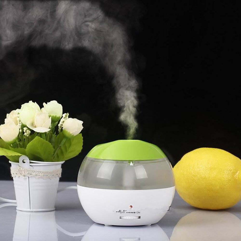 Mini Portable USB Aromatherapy Air Humidifier Ultrasonic LED Light Essential Oil Aroma Diffuser Home Office Mist Maker Fogger cute mini whale design usb portable air humidifier ultrasonic cartoon essential oil aroma diffuser home office mist maker fogger