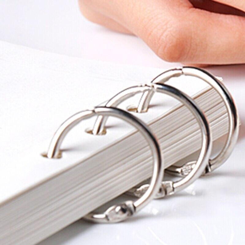 Aktionspreis 10 teile/los Metall Buch Ringe Binder Ring Klapp ...