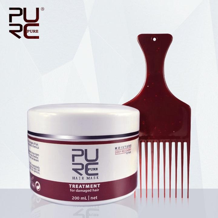 Moisture Deep Recovery Masca pentru par fierbinte de vânzare Hair & Scalp Treatment 200ml Îngrijirea părului obține două pieptene de păr cadou și cap de păr