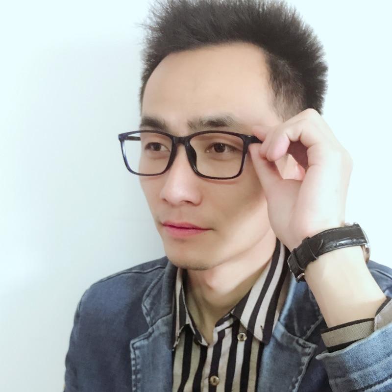 XINZE 2017 Yeni büyük TR90 erkekler gözlük çerçeve reçete - Elbise aksesuarları - Fotoğraf 5