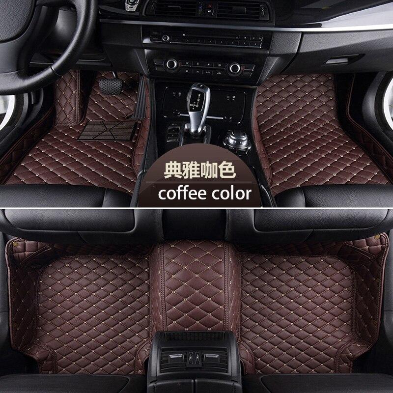 floor mat for BMW e60 f30 toyota yaris chr corolla for Mercedes 205 212 honda civic golf tiguan polo shenlao Custom floor mats in Floor Mats from Automobiles Motorcycles