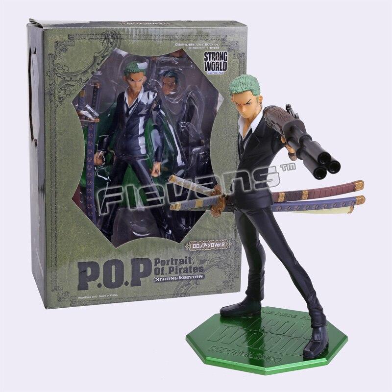 ФОТО Anime ONE PIECE POP Roronoa Zoro PVC Action Figure Collectible Toy 23cm