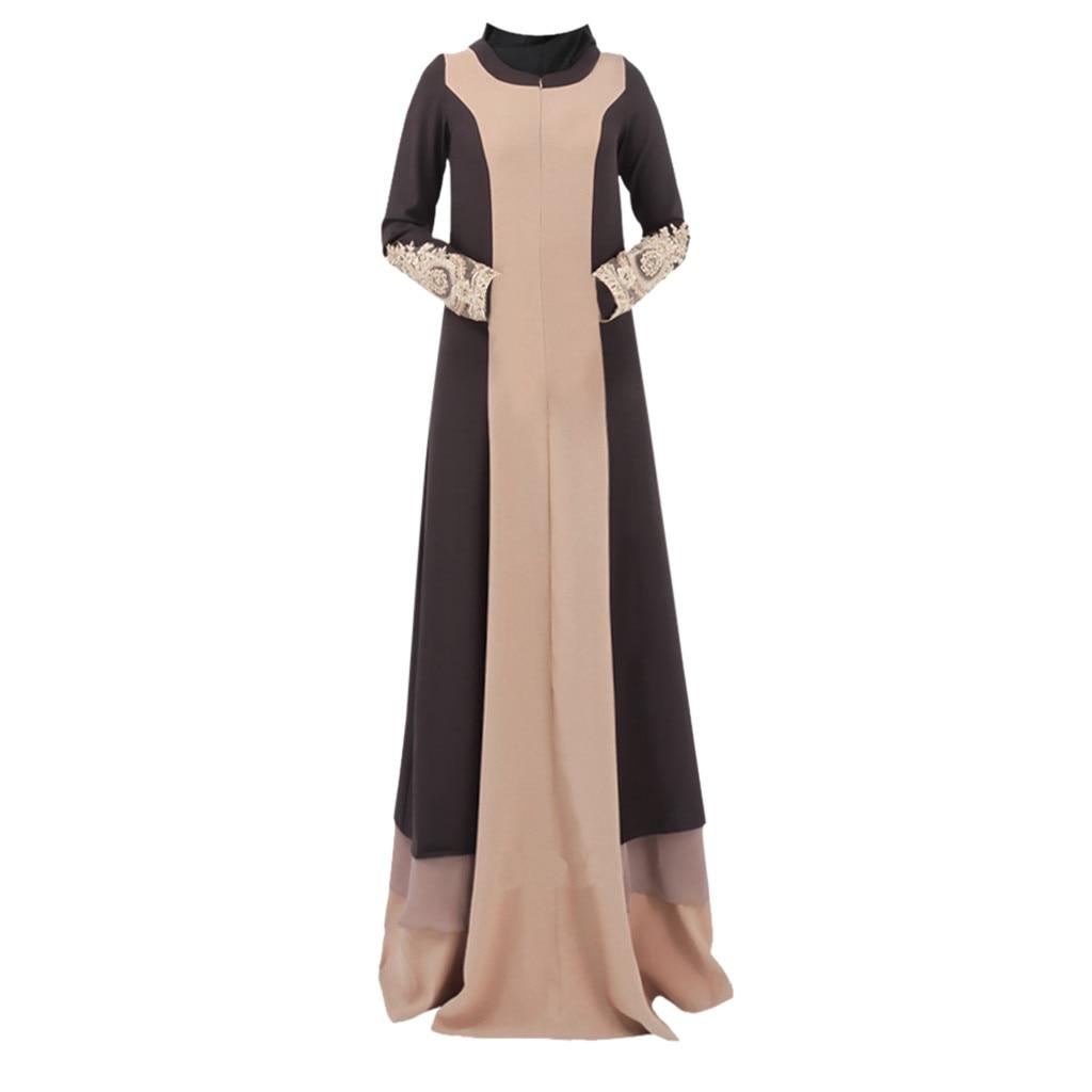 Hot Chiffon Plus size islamic clothing muslim turkish dresses abayas for women abaya dubai bangladesh hijab dress caftan 4.12