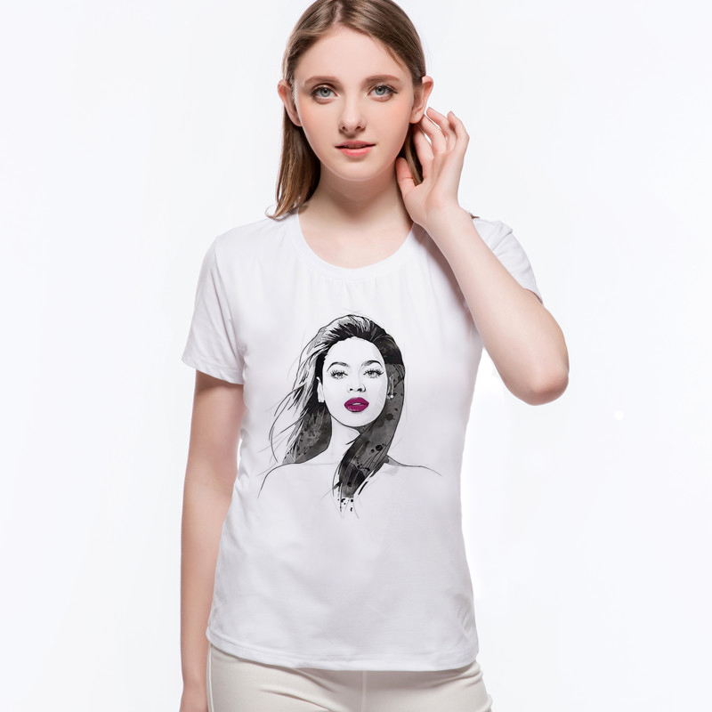 Top weibliche T-Shirt Trend Sommer Style Print Lustige sexy Tops Mode - Damenbekleidung - Foto 4