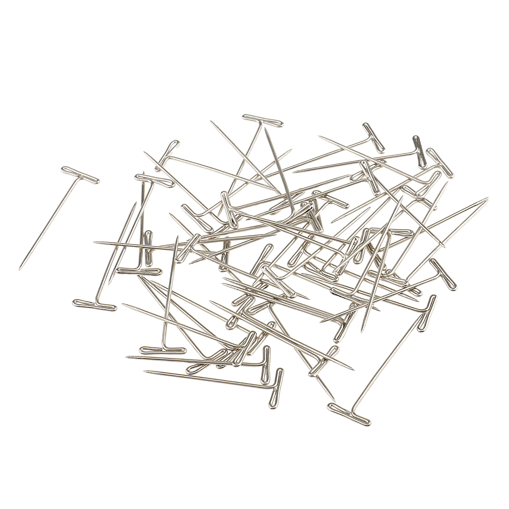 a box of 50 pieces t shape needles pins for wigs hair weaving tools T- shaped Molecular Geometry a box of 50 pieces t shape needles pins for wigs hair weaving tools sewing crafts 38mm in jewelry findings ponents from jewelry accessories on