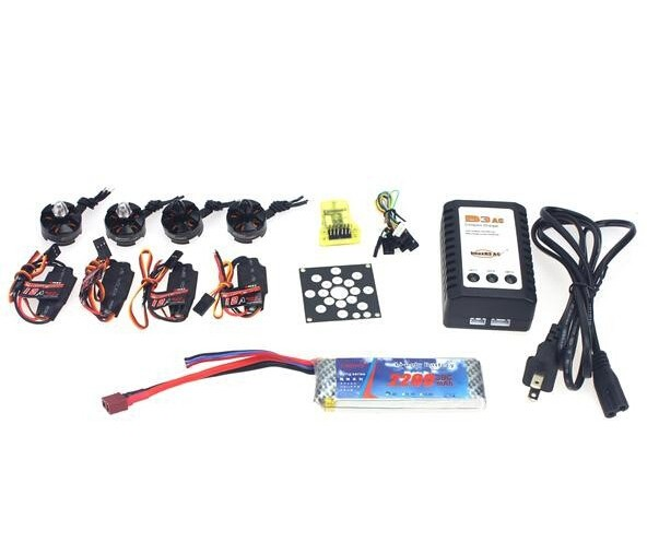 JMT Electronic Components Set KV2300 Brushless Motor +12A ESC+ Straight Pin Flight Control Open Source for 250 Helicopter electronic components set kv2300 brushless motor 12a esc straight pin flight control open source for 250 helicopter f12065 b