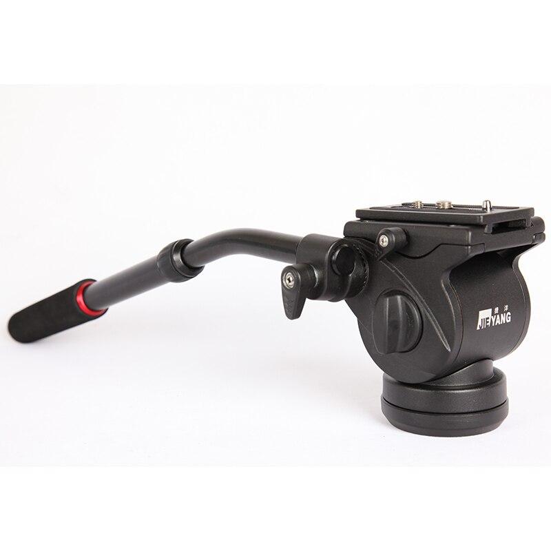 JIEYANG JY0506H tête vidéo fluide pour trépied monopode curseur panoramique tournage vidéo Film DSLR caméra hydraulique