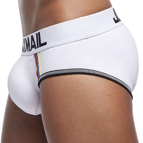 JOCKMAIL Brand underwear men penis pouch cueca  Gay underwear cotton Sexy push up men briefs calzoncillos hombre panties Shorts Multan
