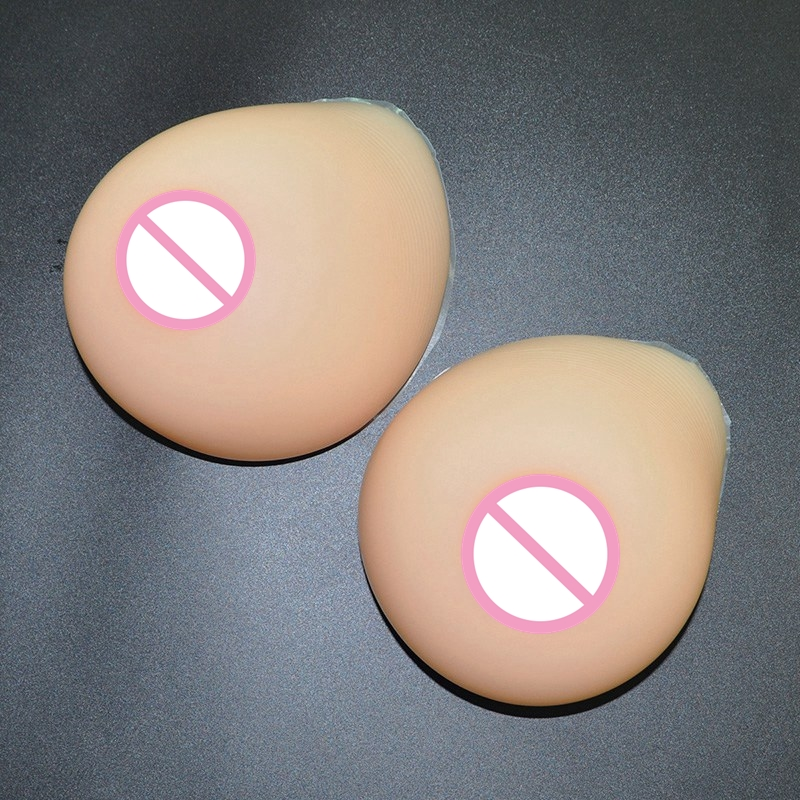 ФОТО 1200g/pair 2XL Size Silicone Artificial Breast Drag Queen Fake Breast Travesti False Boob Enhancer Crossdress Transvestite User