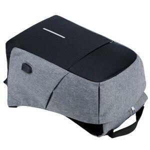 Image 5 - Men Anti theft Backpack USB Charging 15.6 Laptop Backpack Multifunction Waterproof Travel Bagpack women High Quality School bag