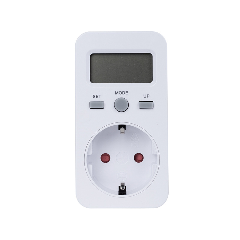 Outlet Wattage Meter : Digital wattmeter power meter socket energy watt