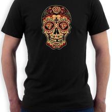 931c49df7 Sugar Skull Diamond T-Shirt Day of the Dead Dia De Los Muertos tattoos Tee