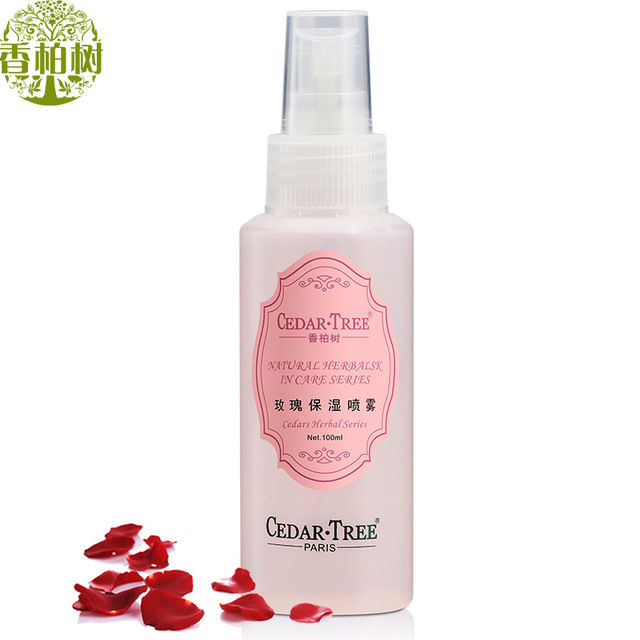 Cuidado de la cara Rose Spray hidratante 100 ml hidratante protector solar reparación tratamiento del acné cosméticos reducir los poros de Control de aceite cuidado de la piel