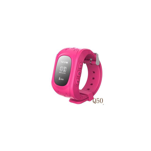 Q50 symrun novo relógio bonito crianças kid relógio de pulso gsm gprs gps rastreador localizador anti-perdido smart watch criança para o relógio bebê