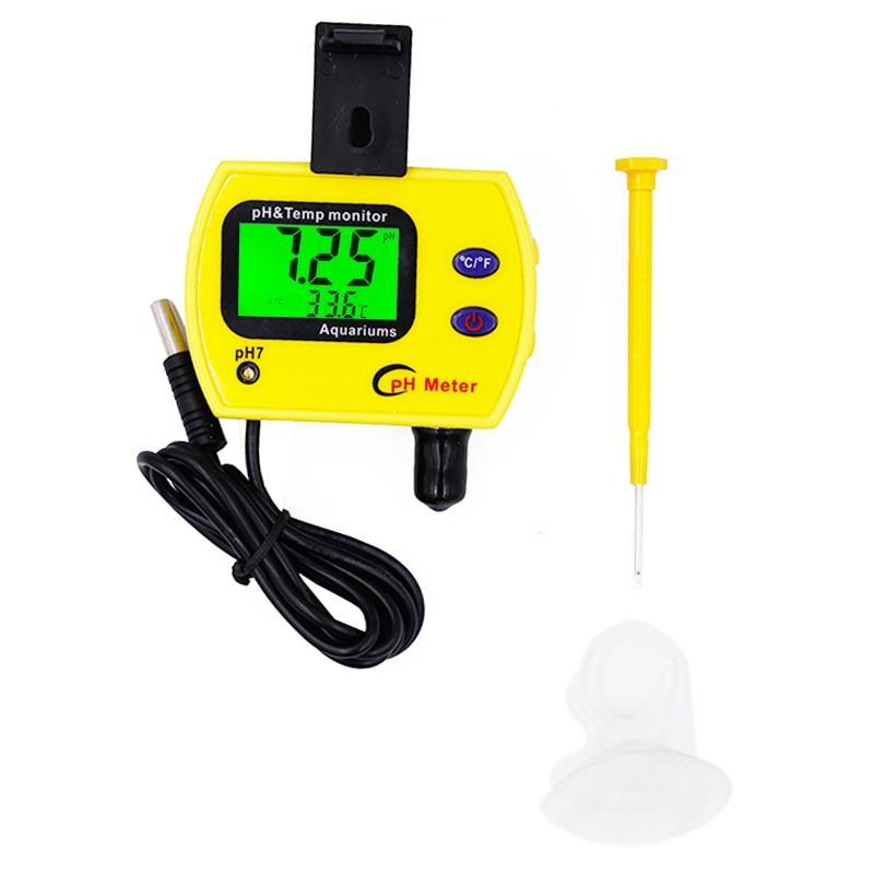 pH 991 accuracy 0.01 Portable ph Meter test for Aquarium Acidimeter Analyzer pH TEMP Meter Measure 21%off