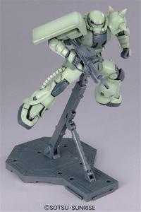 Image 4 - Bandai Gundam MG 1/100 MS 06F Zaku II Ver.2.0 Mobile Suit Assemble Model Kits Action Figures Plastic Model Toys
