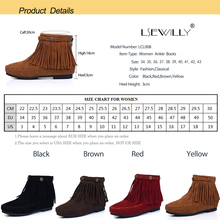 Lsewilly Woman shoes boots fashion Snow Botas  Tassel High-quality Knee-high ladies shoes Slip-resistant 2017 now hot  LCL008