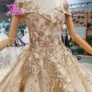 Image 1 - AIJINGYU robes de mariée Canada acheter mariage de luxe en ligne en turquie deux en un fiançailles Sexy voile mariage boutiques de mariée