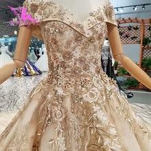 AIJINGYU فساتين الزفاف كندا شراء الزواج الفاخرة على الانترنت في تركيا اثنين في واحد المشاركة مثير الحجاب الزفاف محلات الزفاف