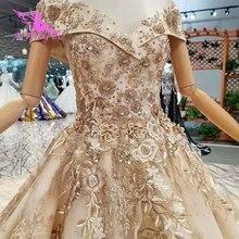 Vestidos de novia AIJINGYU Canadá compra matrimonio de lujo en línea en Turquía dos en uno velo de compromiso Sexy tiendas de boda
