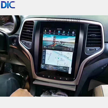 DLC sistema Android 6,0 pantalla vertical espejo enlace GPS coche estilo navegación reproductor vídeo para Jeep grand cheroki 2014- 2017