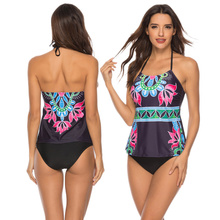 Sexy Suit Brazilian Bikini Plus Size Swimwear Women Push Up Bikini Set Tankini Set Two Piece Swimsuit for Girl Badpak Bathing US