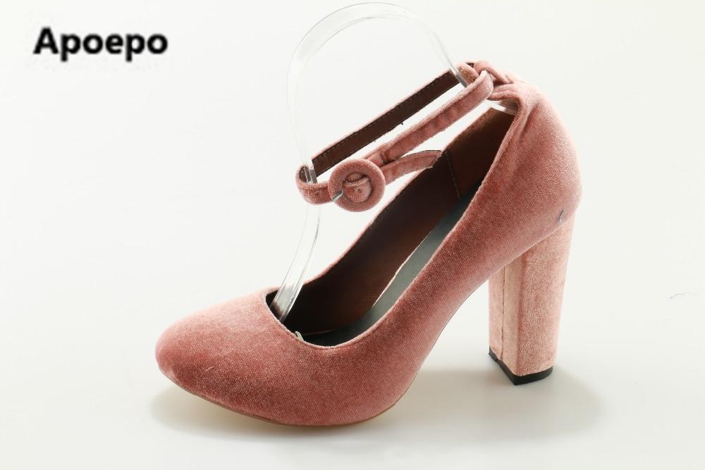 Pompes Haute De Velours Chaussures Bout Janes Marque Mary Girl Rose w0OkX8nP