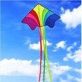 O envio gratuito de alta qualidade grande pipa com linha pega brinquedos ao ar livre voando rainbow chinese kitesurf polvo pipa criança atacado