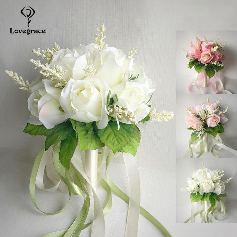 wedding bouquet for bridal bridesmaid flowers (2)
