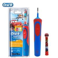 BRAUN Oral B Children Electric Toothbrush D12513K Gum Care Waterproof CARS Safety Recharging Teeth Brush For