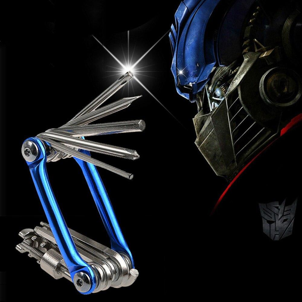 Набор инструментов для ремонта велосипеда 15 в 1, шестигранный ключ + отвертки + гаечные инструменты + шестигранный ключ, инструменты для ремонта велосипеда|Инструменты для ремонта велосипедов|   | АлиЭкспресс