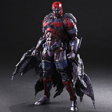 Haocaitoy PA Figures  Magneto Movie Dolls PVC Model Action Figures Collectible Model Toys 27cm все цены