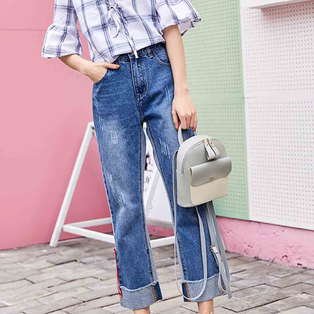 HTB1AFF4boY1gK0jSZFCq6AwqXXaj New Designer Fashion Women Backpack Mini Soft Touch Multi-Function Small Backpack Female Ladies Shoulder Bag Girl Purse #YY